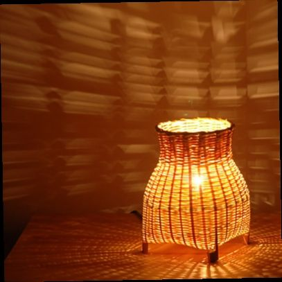 45.00$  Watch now - http://alioyn.worldwells.pw/go.php?t=32407917648 - Woven bamboo Night light Lamp Light Abajur infantil Lamparas LED lamp Abajour Kindle Book light Reading light Reading lamp