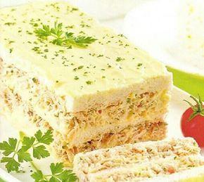 Aprenda a preparar a receita de Torta fria de pão integral