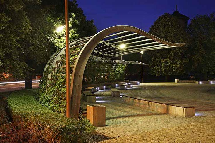 Untraditional Modern Arbor In 2019 Gazebo Pergola
