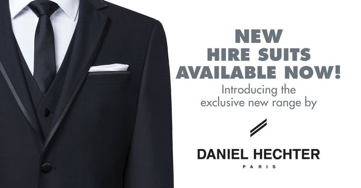 Daniel Hechter Dinner Suit Tuxedo, available for hire. Paired with black silk long tie and white silk hank.  Ferrari Formalwear and Bridal | Black and White Wedding