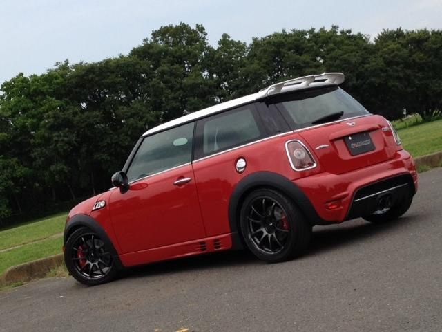 01 06 Mini Cooper One S Topsun Front Per Grille Of Aero Body Kit 1st Gen Bodykit Pinterest And