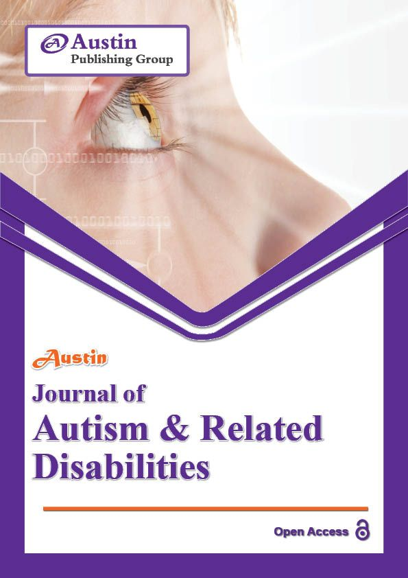 Austin Journal of Autism & Related Disabilities accepts original research articles, review articles, case reports, clinical images and rapid communication on all the aspects of Autism & Related Disabilities.