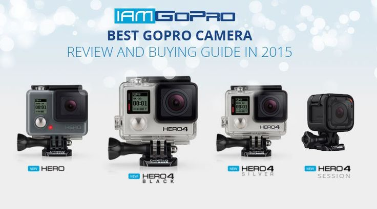Best GoPro camera review and buying guide in 2015. You may be asking yourself what criteria we have used in selecting the best GoPro cameras on the market. Well, to eliminate any forms of doubt or bias, we have done our selection based on our experience. Therefore, we guarantee that the information provided is 100-percent. Dedicate some few minutes of your time to read more and discover what exactly what you need to use. @iamgoprocom #GoProProducts