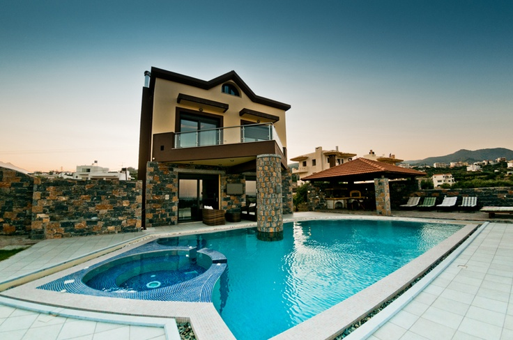 Villa Brandon, in Agios Nikolaos Crete. One of the most beautiful places to visit is Agios Nikolaos, capital of the Prefecture of Lasithi is located about 60 km east of Heraklion the capital of Crete.