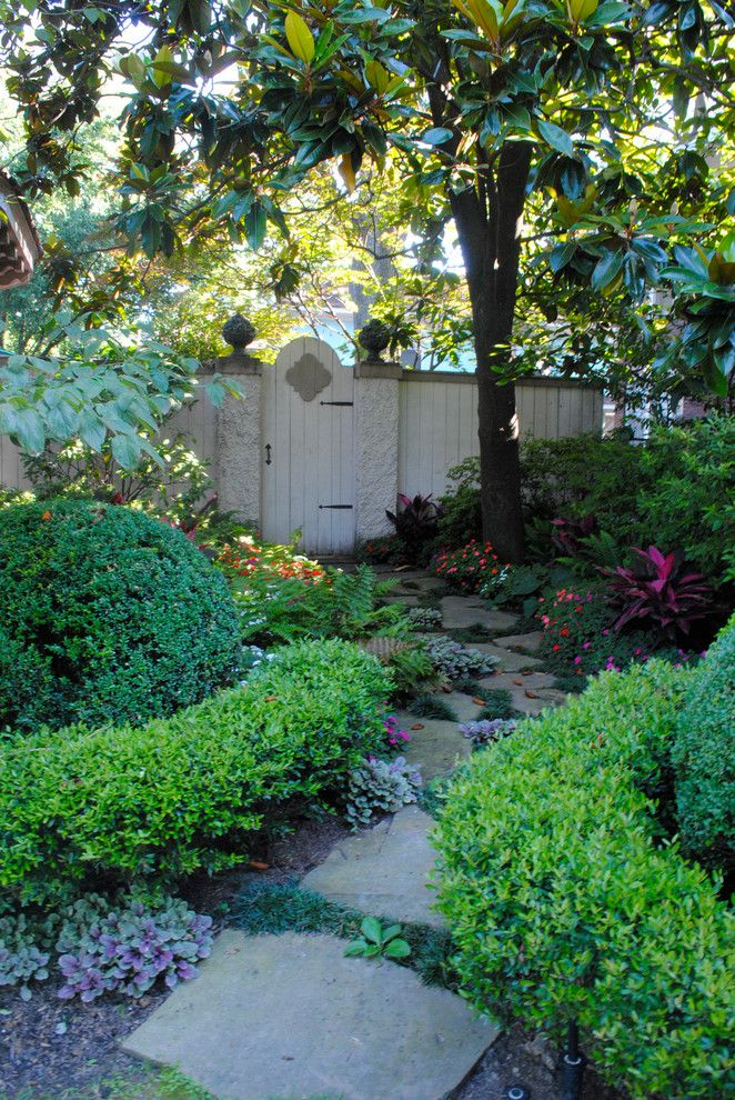 design footpath made by stone plants trees pathway flowers beautiful scenery stones house exterior