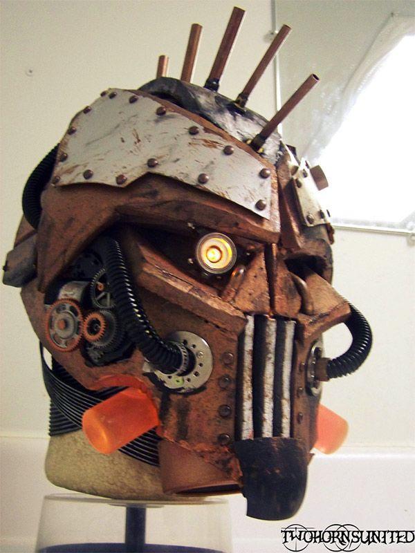 Steampunk Borderlands/Rage Inspired Mask | Geek on in 2019 ...