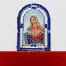 1PCS As figurines ICONS Religious Center Piece  cross Christ Jesus alloy  handicraft furnishing articles home decoration