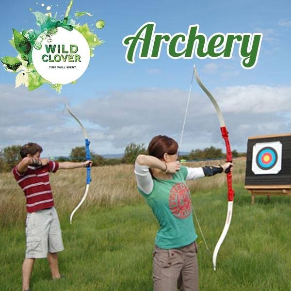 Come join us in a game of #archery! Our coach is on hand every Saturday morning. Link: http://ow.ly/x8eK7