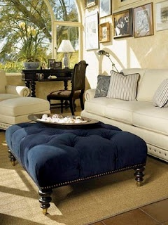 love this room and especially the ottoman