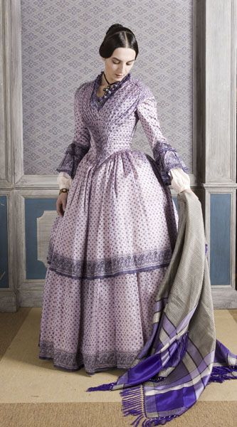 1840 outfit. Clothing made by Costume Design students at the Centro Sperimentale di Cinematografia in Rome in 2004. Tutor Luca Costigliolo