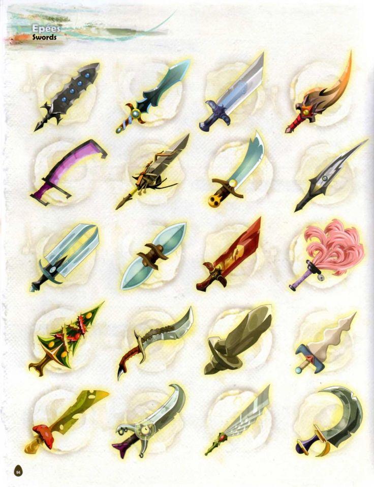 Page 94 de l'Art book de Dofus 2.0