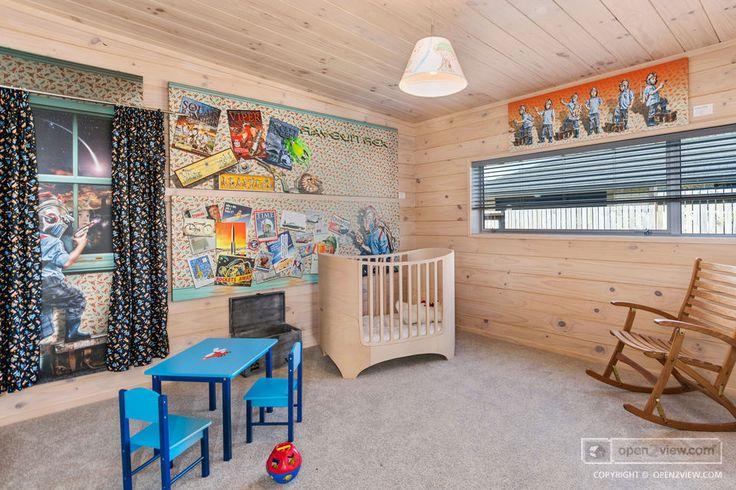 This kids' playroom just spells adventure!