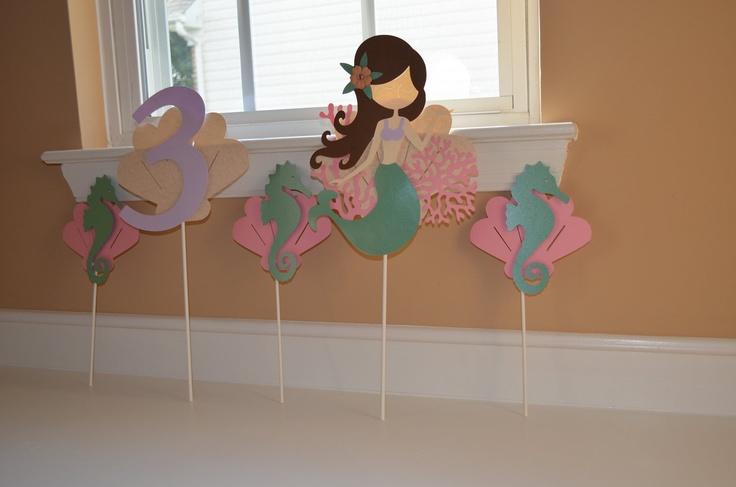 Entire Mermaid Theme Birthday Party. $70.00, via Etsy.