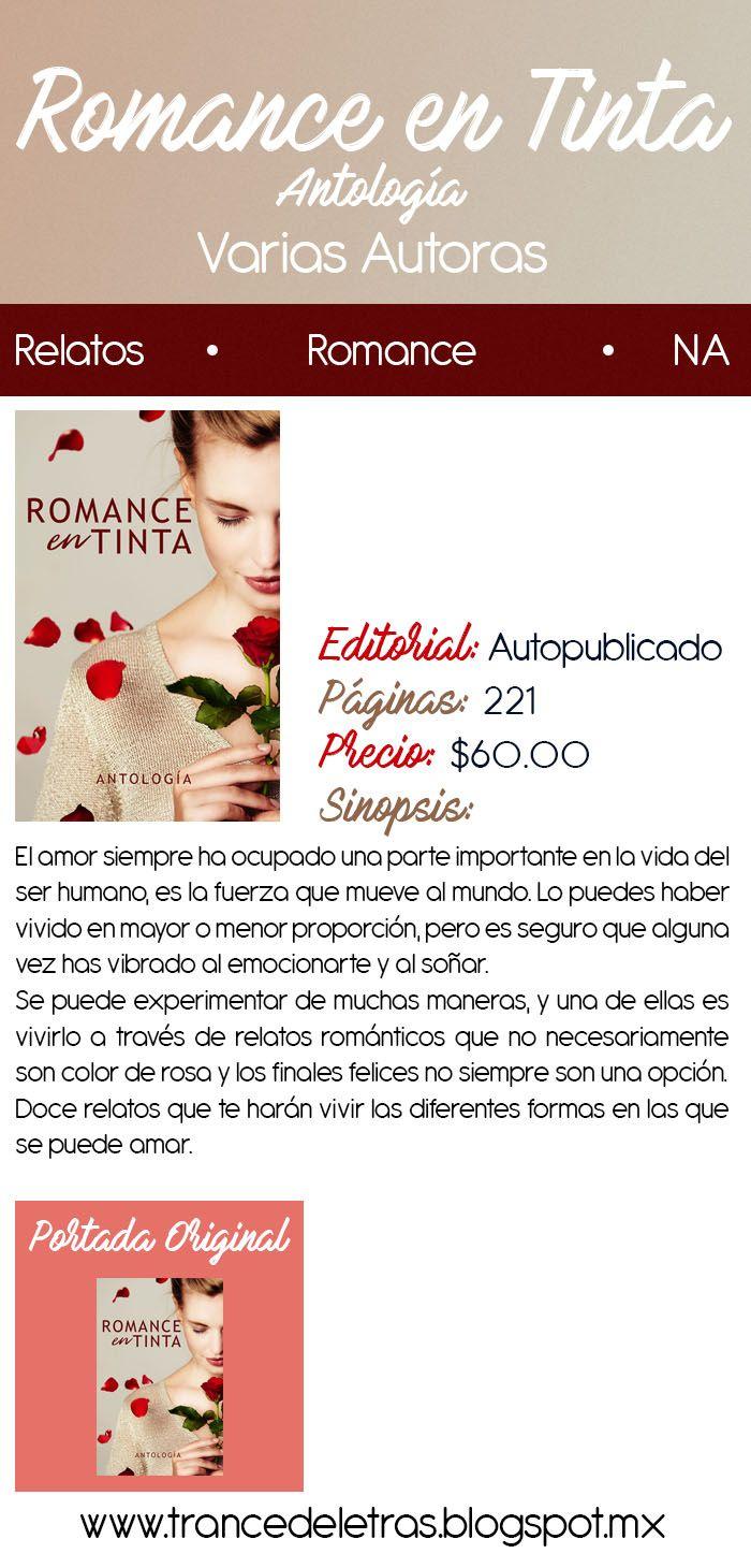 Romance en Tinta (Antología) de Varias Autoras