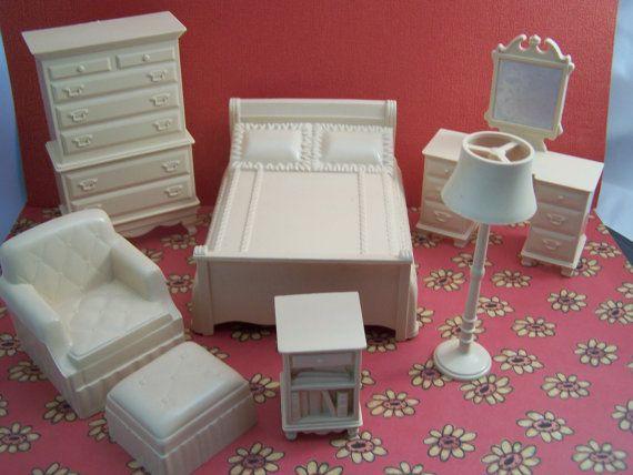 Marx Marxie Mansion Tan Peach Bedroom  Fits 3/4 by MinimalScratch, $28.99