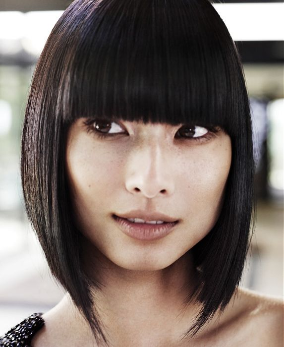 8 best square one length images on pinterest hair cut one length cool bangs hairstyles for teen girls winobraniefo Image collections