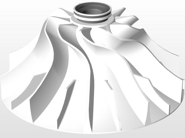 Compresor Centrifugo / Centrifugal Compressor - STEP / IGES,Autodesk Inventor - 3D CAD model - GrabCAD