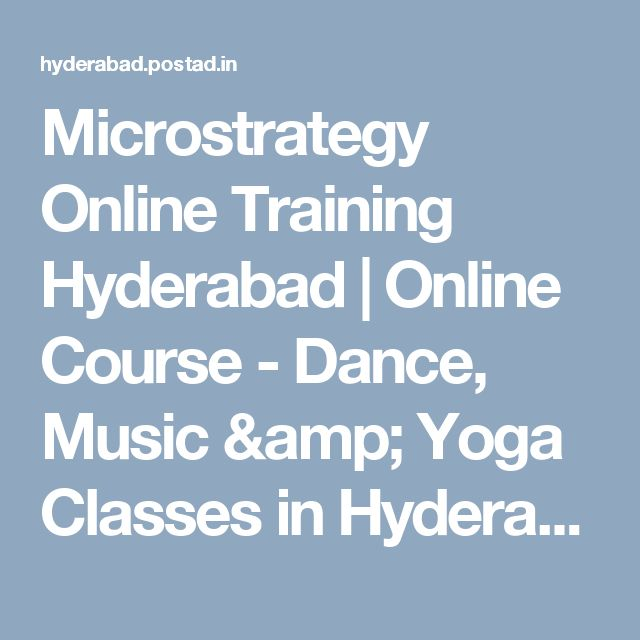 Microstrategy Online Training Hyderabad Online Course - Dance - microstrategy administrator sample resume