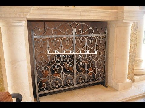 Decorative Custom Fireplace Screens remarkable