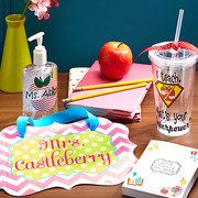 Take a look at the Number One Teacher: Personalized Gifts event on #zulily today!