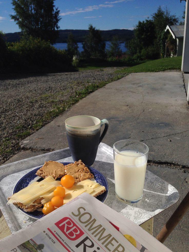 Mjølk og kaffe