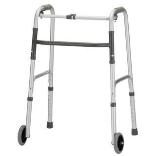 "Nova Medical Lightweight Adult Aluminum Walkers with 5"" Wheels"