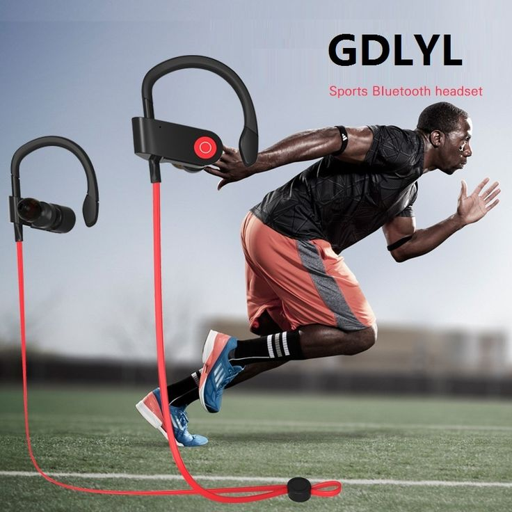 Original Gdlyl Sports Bluetooth Headset Wireless Bluetooth 4.1 Music Sport Headphones Waterproof Sweatproof Earphone Latest | Dream Jewelry Place. Find Earring, Necklace, Rings and More.