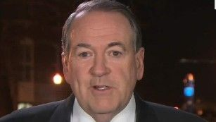 Mike Huckabee: I'm happy to be here .  Trump hires Mike Huckabee's daughter.