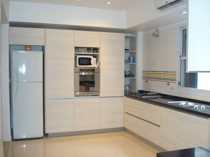 51 best domi cocinas images on pinterest kitchens for Gabinetes de cocina en melamina