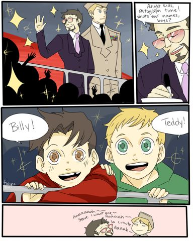Avengers - Young Avengers - Stony Superboyfriends