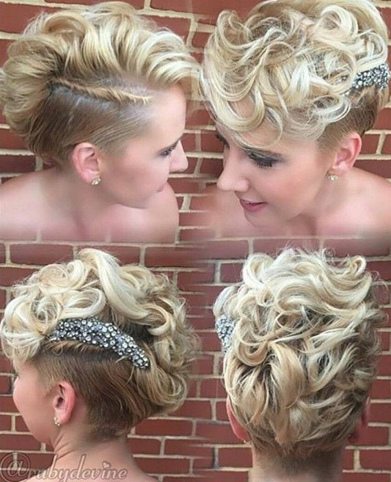 long curly pixie cut                                                                                                                                                                                 More