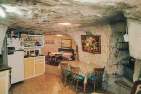 Visit  Faye's famous Underground Home, located in a beautiful desert garden. The original one room home housed the first mail truck driver over sixty years ago. via Gaander