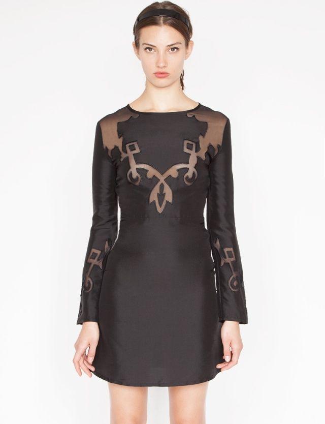 1000  ideas about Black Silk Dress on Pinterest - Backless shirt ...