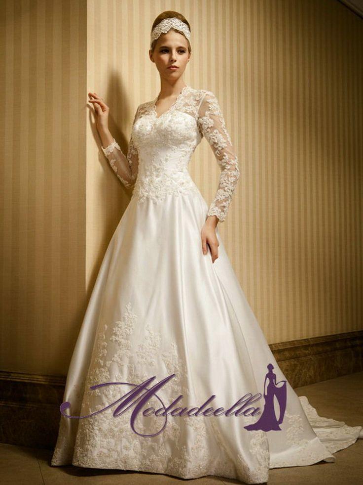 vestidos de novia elegantes para novia en