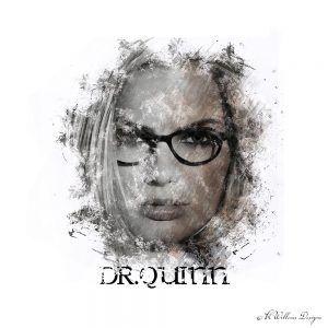 Margot Robbie as Dr. Harley Quinn   KWillems Designs