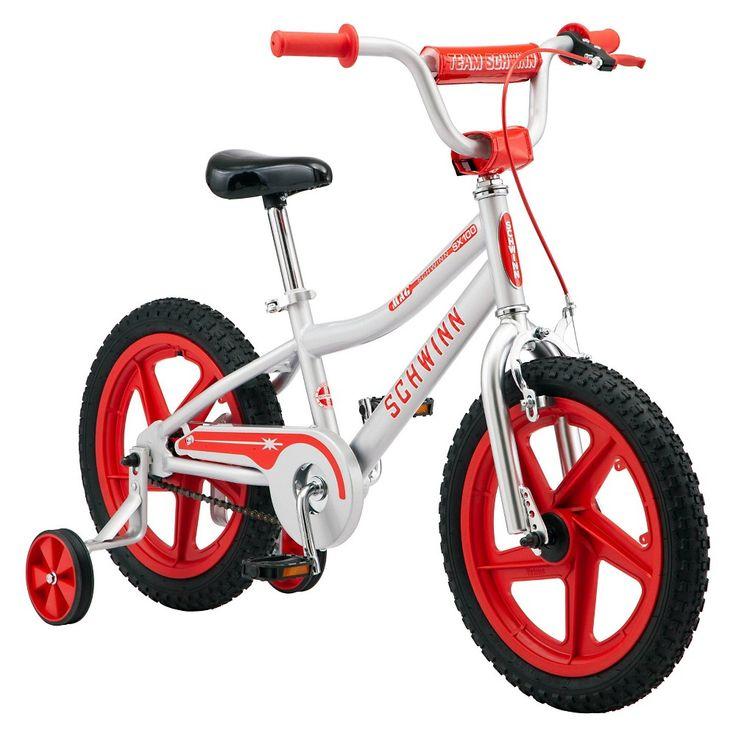 Schwinn Sx100 16 Kids Bike Silver In 2021 Kids Bike Schwinn Bike