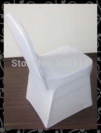Pas cher Gros livraison gratuite blanc 150 pcs couverture de chaise de spandex / couverture de chaise en lycra / couverture de chaise de mariage, Acheter  Couvre-chaise de qualité directement des fournisseurs de Chine:                                                                    Le prix est blanc seulement.
