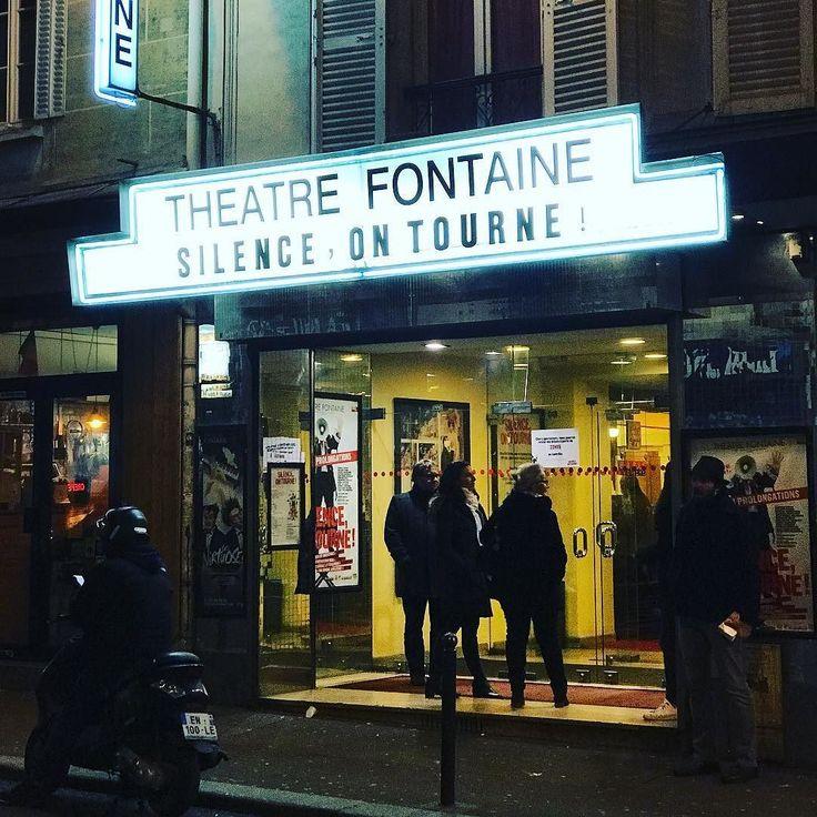 Une très bonne soirée ! Si vous voulez rire et vous réjouir courez-y. #theatre #paris #theatrefontaine #silenceontourne