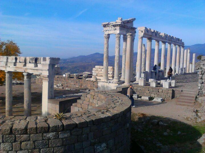 Acropolis, Pergamon in Bergama, İzmir
