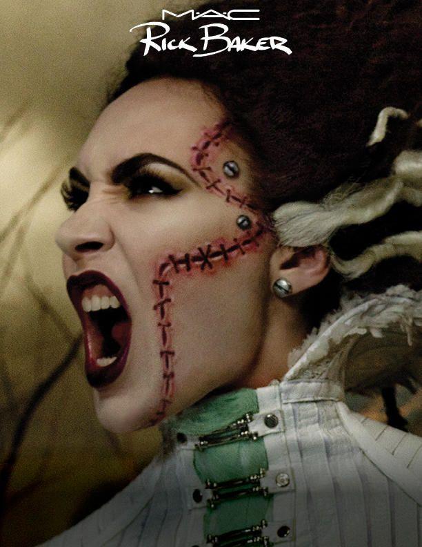Halloween 2013: copia il trucco da sposa cadavere grazie al make-up tutorial ideato da Rick Baker per MAC / Speciale Halloween / for you / Home page - Cosmopolitan