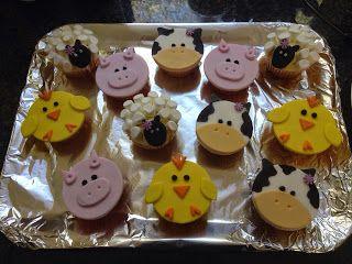 Whisked Away: Farmyard Cupcakes
