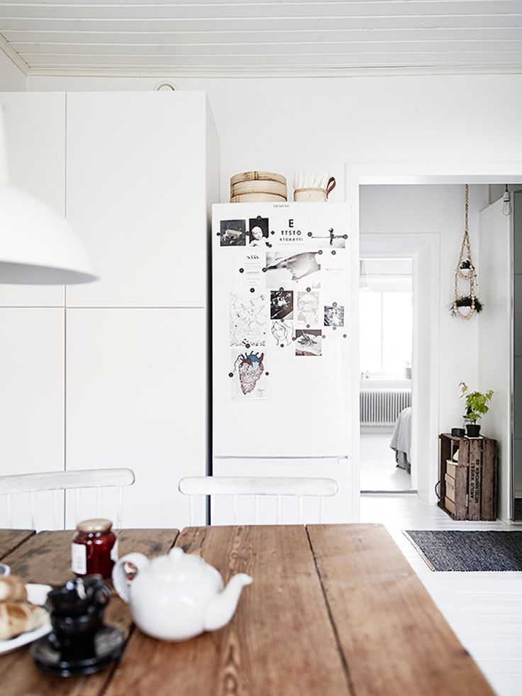 Openness and air. #home #interiordesign #kitchen