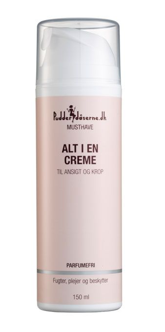 Pudderdåserne.dk Musthave - All In One Cream, Face & Body