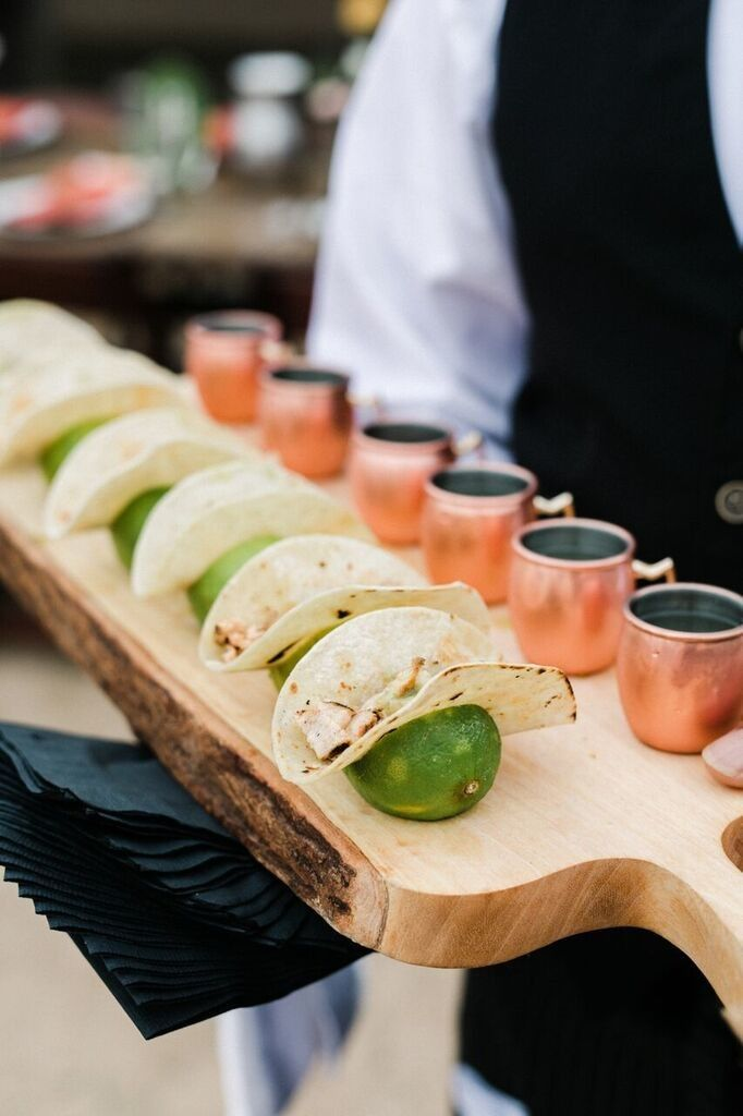 22 Genius Food And Drink Pairings For Your Wedding