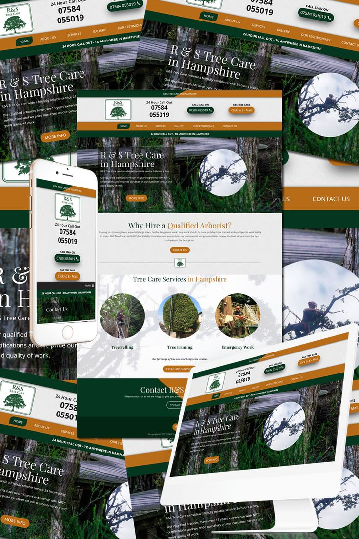 The New Website for R&S Tree Care https://hostcat.co.uk/project/rs-tree-care/