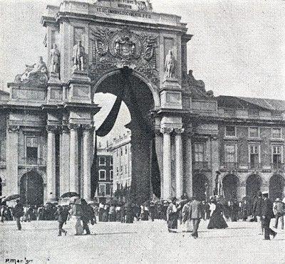 Arco da Rua Augusta, sem data
