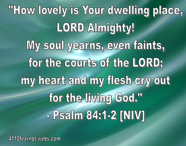 Image result for psalm 84:1