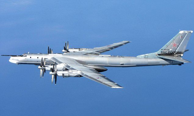 Japan scrambles fighter jets to intercept two Russian bombers