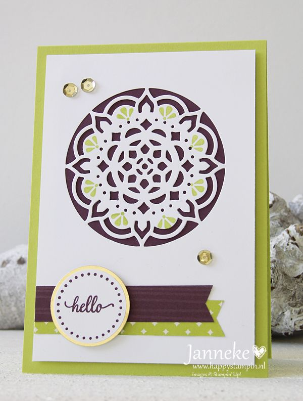 Happy Stampin' Stampin' Up! Eastern Palace