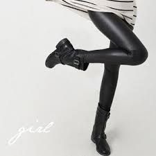Leather pants and biker boots